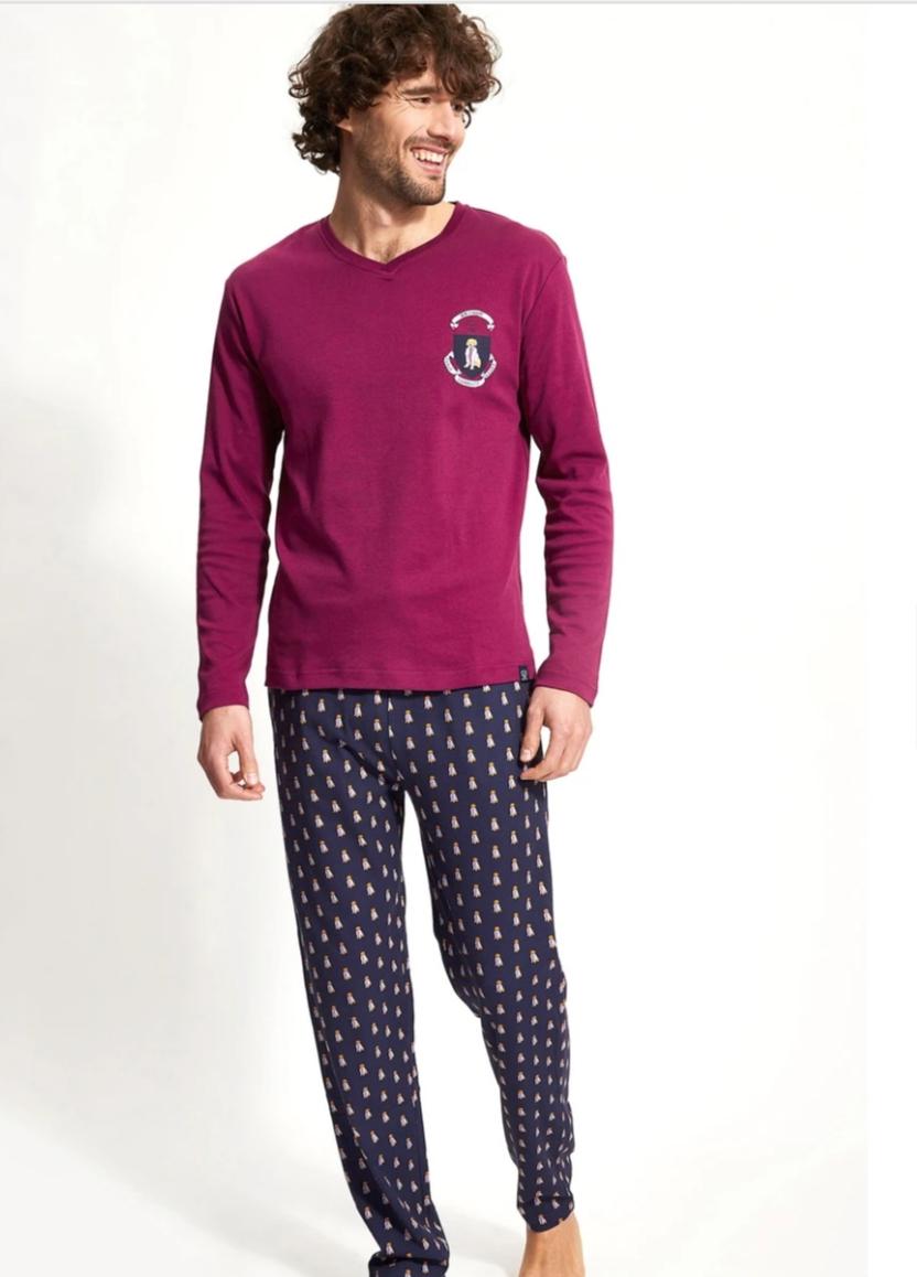 Pyjama bordeau Arthur